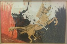 Cavaliere dell'Apocalisse, by Rufino Tamayo, Vatican modern collection