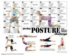 30 Day Posture Challenge