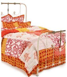 Big patchwork quilt