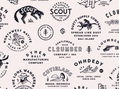 Archive from 2015 - Now branding graphic design vintage illustration Design Logo, Vintage Logo Design, Badge Design, Vintage Branding, Identity Design, Print Design, Vintage Logos, Vintage Graphic, Design Design