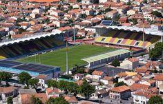 Gilbert Brutus stadium in Perpignan - home to the Catalan Dragons