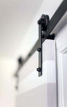 DIY sliding door!