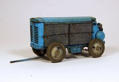 Red iron models towed air compressor ZIF-55 in 1/35 scale. Model builder Balzac.