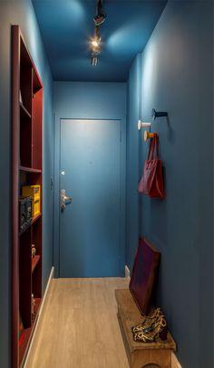 Hall apartamento | Projeto Ana Trevisan Arquitetura e Paisagismo Florianópolis - SC