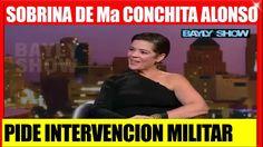 SOBRINA DE MARÍA CONCHITA ALONSO PIDE INTERVENCION PARA VENEZUELA NOTICIAS DE ÚLTIMA HORA VENEZUELA