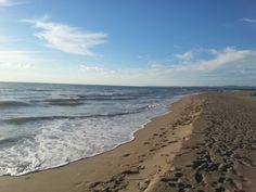 La sabbia chiara chiara di Passoscuro.
