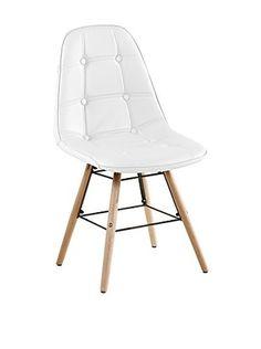 stuhl savona 2er set wei 4 fu st hle st hle freischwinger esszimmer m bel. Black Bedroom Furniture Sets. Home Design Ideas