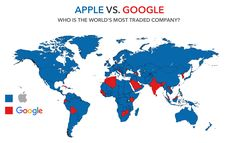 Apple vs. Google: Who Is The World's Most Traded Company? (from our Daily FEED. Visit fbicgroup.com to subscribe!)