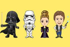 draw your face as star wars cartoon character