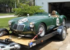 This 1959 MGA roadster was restored in the style of the LeMans and Sebring race cars. We like the style and feel like we saw the car listed previously on Craigslist for a good deal more than the $25000 being asked here on eBay in Humble, Texas. Does anybody remember seeing this car previously?