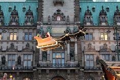 Weihnachtsmarkt vor dem Hamburger Rathaus #hamburg #weihnachtsmarkt