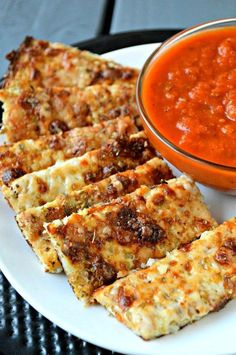 Cheesy Cauliflower Breadsticks recipe - a yummy way to get sneak cauliflower int.,Healthy, Many of these healthy H E A L T H Y . Cheesy Cauliflower Breadsticks recipe - a yummy way to get sneak cauliflower into your meal! Baby Food Recipes, Gluten Free Recipes, Low Carb Recipes, Diet Recipes, Vegan Recipes, Cooking Recipes, Cooking Corn, Cheap Recipes, Family Recipes