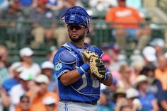 Angels acquire Juan Graterol from Blue Jays = The Los Angeles Angels and Toronto Blue Jays were trade partners on Tuesday. The Halos acquired catcher Juan Graterol, and the Blue Jays are set to receive either cash considerations or a player to be named later in exchange. As a result of the transaction, Los Angeles designated outfielder Ryan LaMarre for assignment to…..