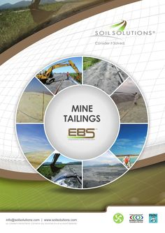 Mine Tailings Brochure: Management - Dust Control - Erosion Control  http://www.slideshare.net/soilsolutions/soil-solutions-mine-tailings-brochure
