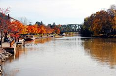 Erie Canal, Pittsford Ny, fall foliage 2011