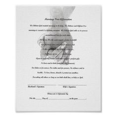 Marriage Vow Renewal Certificate free printable | All Things Wedding ...