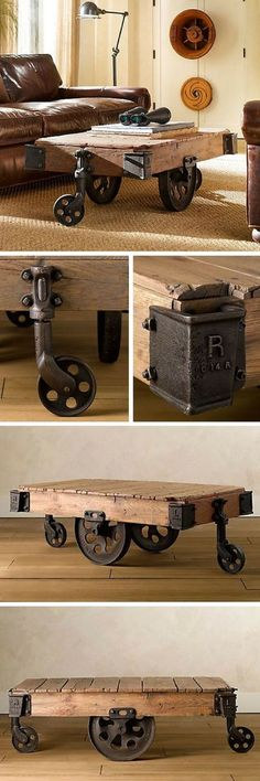 Pallet coffee table (MAJ 50 original and fun ideas!