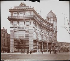 The Majestic Theatre in Columbus Circle, 59th St., NYC in 1902