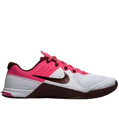 10714c2dbd496 Nike Womens Metcon 2 Shoes WhiteMaroonPink Size 12    Check this awesome  product by going