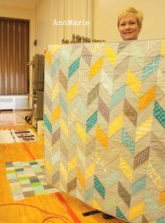 Love chevron quilts!