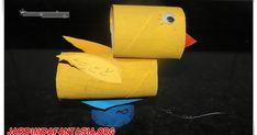 Confecção de Pato com Material Reciclável Sugestão de Aula com Adivinhas