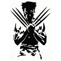 Wolverine Die Cut Vinyl Decal PV259