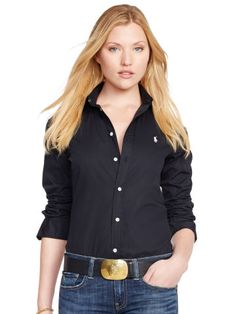 Welcome to the world of Ralph Lauren. Discover timeless and authentic designer clothing for men, women, children and babies. Polo Ralph Lauren, Ralph Lauren Slim Fit, Ralph Lauren Long Sleeve, Long Sleeve Tops, Long Sleeve Shirts, White Shirts, Shirt Blouses, Black Button, Preppy