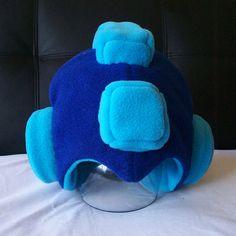Mega Man Fleece Helmet