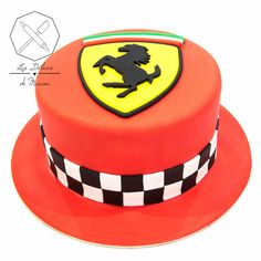 Best Picture For Cake Design art For Your Taste You are looking for something, and it is going to tell you exactly what you are looking for, and you didn't find that picture. Here you will find the mo Bolo Ferrari, Ferrari Cake, Ferrari Party, Cake Designs For Girl, Cake Design For Men, Boys 1st Birthday Party Ideas, Dad Birthday Cakes, Car Cakes For Men, Cakes For Boys