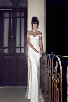 Une longe robe en blanc pour votre mariage