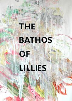 Volker Eichelmann The Bathos of Lillies (Brian Howard) 2012; Ancient & Modern; NADA