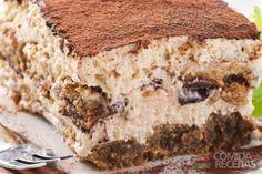 Receita de Pavê de bolo gelado