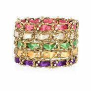 chain ribbon bangle