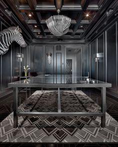 Is that a lucite ping pong net? glam! Royalton | Ryan Street & Associates
