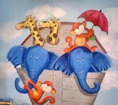 Noah's Ark Mural