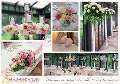 La Villa Starnbergersee Rosen Hochzeit Dekoration Floristin Das blühende Atelier Maria Irlbeck München