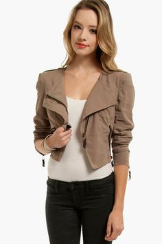 Halfway There Jacket $44 at www.tobi.com they only have larges! UGH!