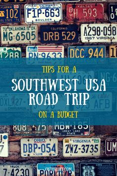 Tips for a southwest USA road trip on a budget – On the Luce travel blog