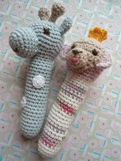 Recipe for crochet rattles