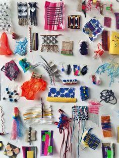 Textile Texture, Fabric Textures, Textures Patterns, Design Textile, Art Textile, Textiles Techniques, Photocollage, Fabric Manipulation, Mark Making