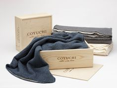 the perfect winter gift - and the packaging bumps up the wow factor. Cozy Cotton Throw with Gift Box