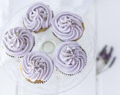 Eric Lanlard's lavender cupcakes recipe