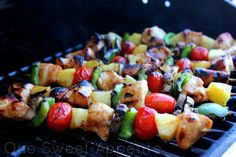 Camping meal ideas including these ready to grill kabobs. Camping food should be premade and ready to cook..so easy.