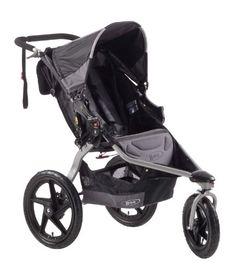 BOB Revolution SE - Cochecito todoterreno de 3 ruedas, color gris y negro