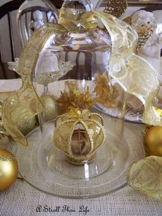 A Stroll Thru Life: Christmas Cloche Party-Welcome