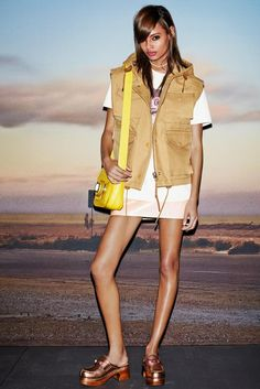 Coach Spring 2015 Ready-to-Wear - Collection - Gallery - Look 1 - Style.com