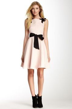 Dotted Circle Dress by Eva Franco on @HauteLook Fiber Content Shell & Contrast: 90% cotton, 10% spandex Lining: 100% polyester
