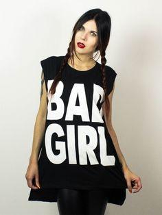 Bad Girl 1 Punk Rock Fashion, Hard Candy, Rock Style, Rave, Vogue, Tops, Raves, Rocker Style, Rocker Chic
