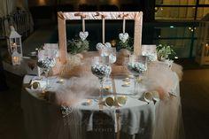 Confettata romantica per un matrimonio dallo stile shabby