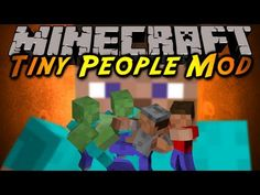 Tiny People In Minecraft Create Your Own Little Colony Of And Then Slay Them All With ZOMBIESerm Anyway